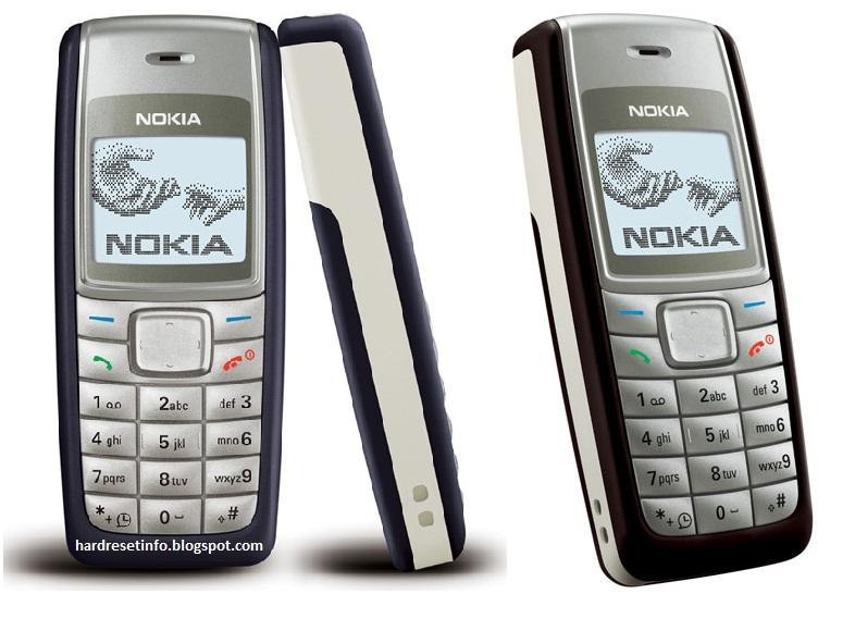 Hard Reset Nokia 1112
