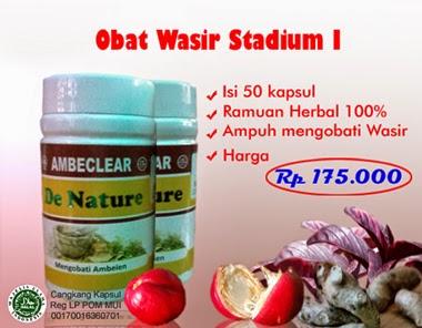 obat wasir stadium 1 dan 2