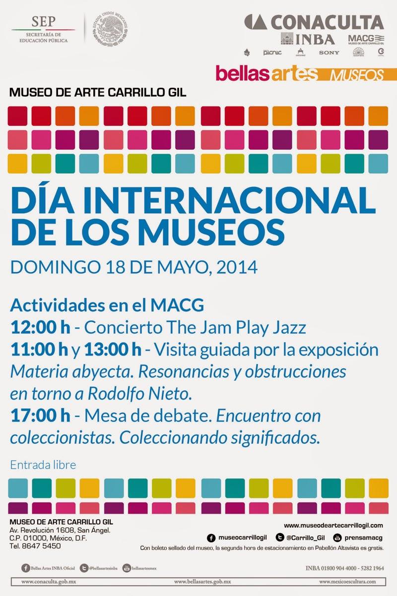 Día Internacional de los Museos 2014 en el Museo de Arte Carrillo Gil