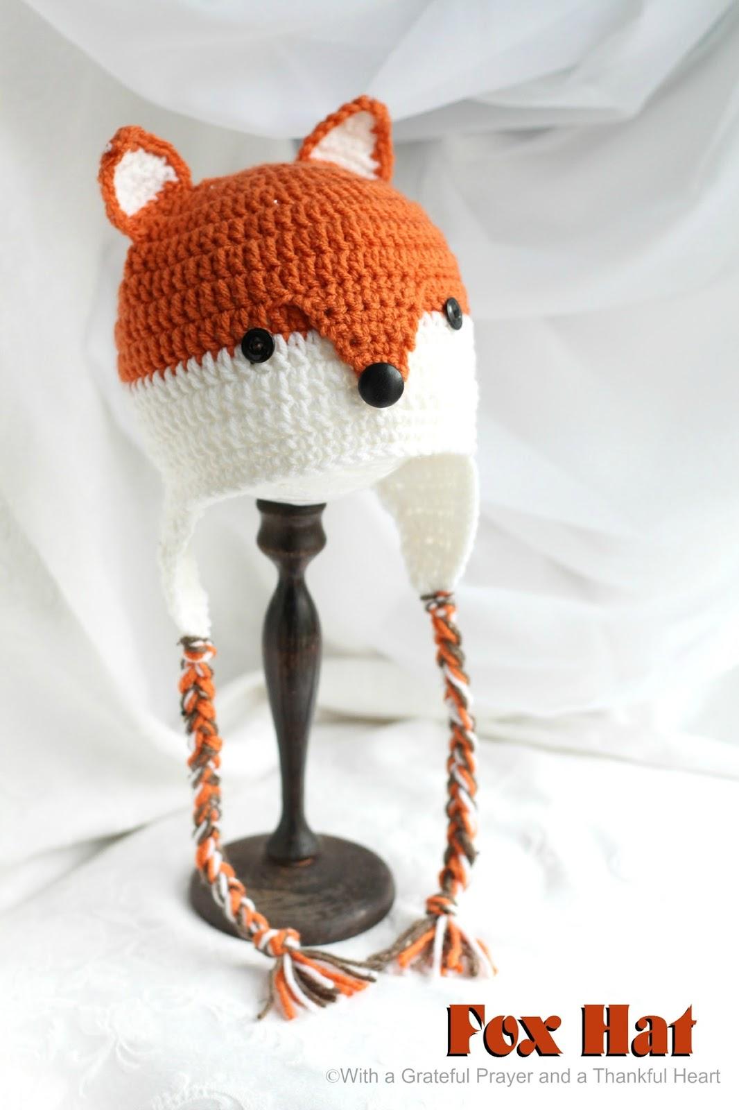 Free Crochet Pattern For Fox Ears Legitefo For
