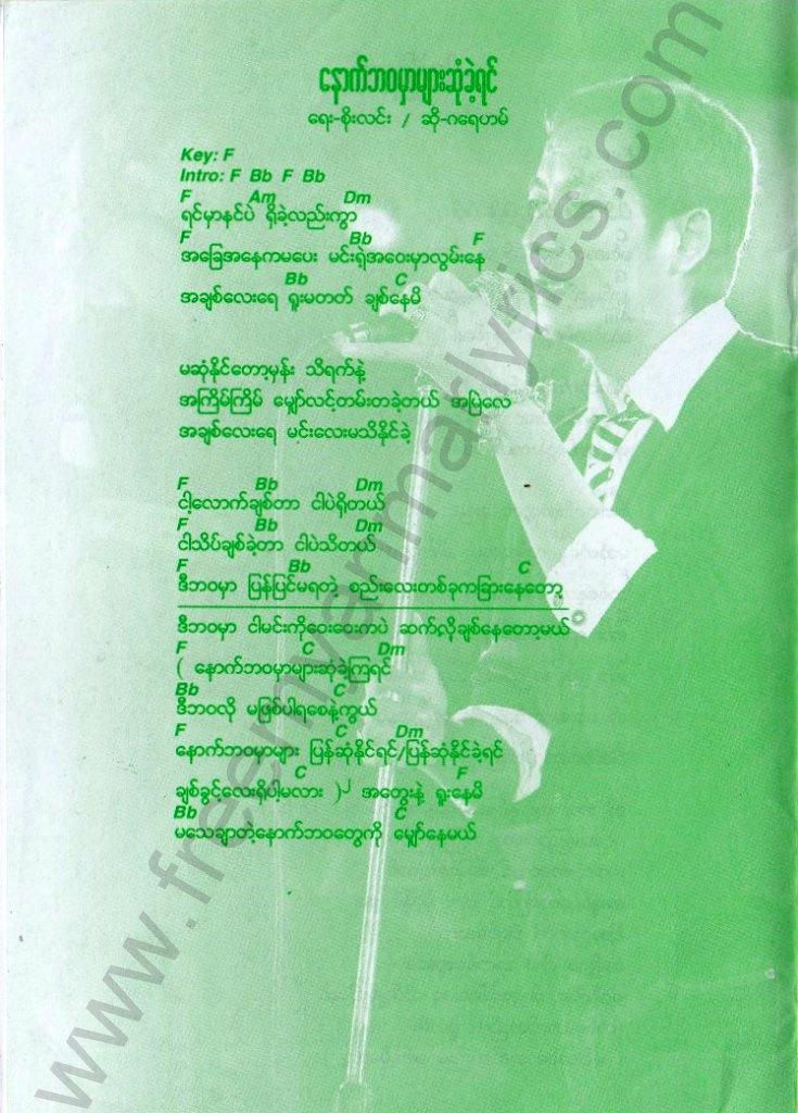 Various Artists Htar Waya Pyit Say