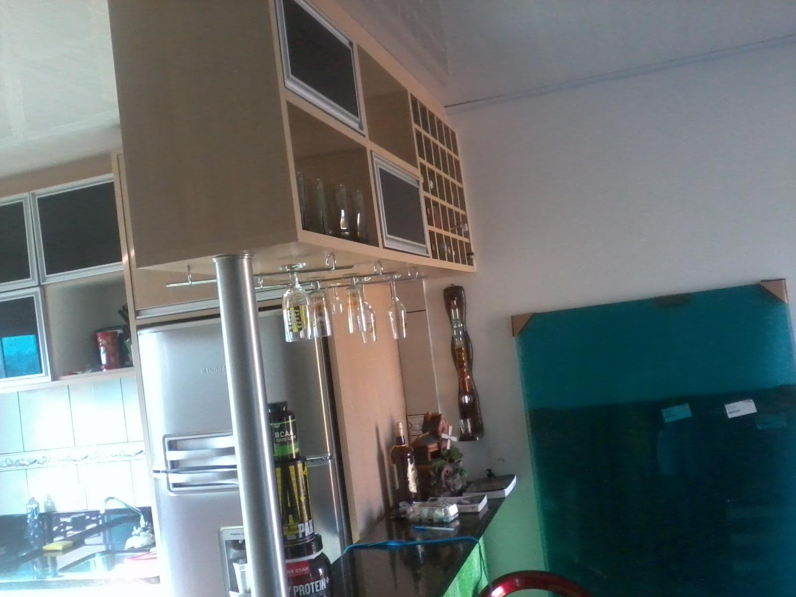 Formularte móveis sob medidas: Cozinha sob medida com mini bar #2C4E5B 1600 1200