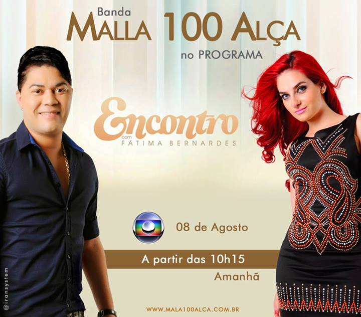 Forr malla 100 al a vai participar do programa encontro for Grupo alca
