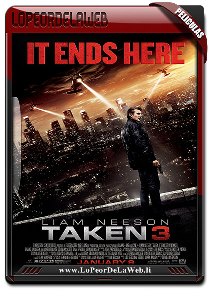 Taken 3 (2015) BRrip 720p Latino-Ingles