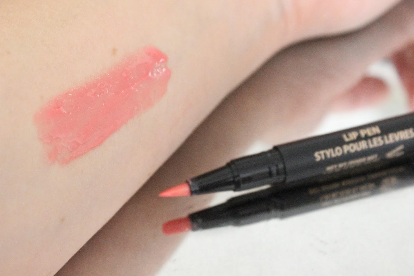 Nudestix Lip Pen in Lolly Review