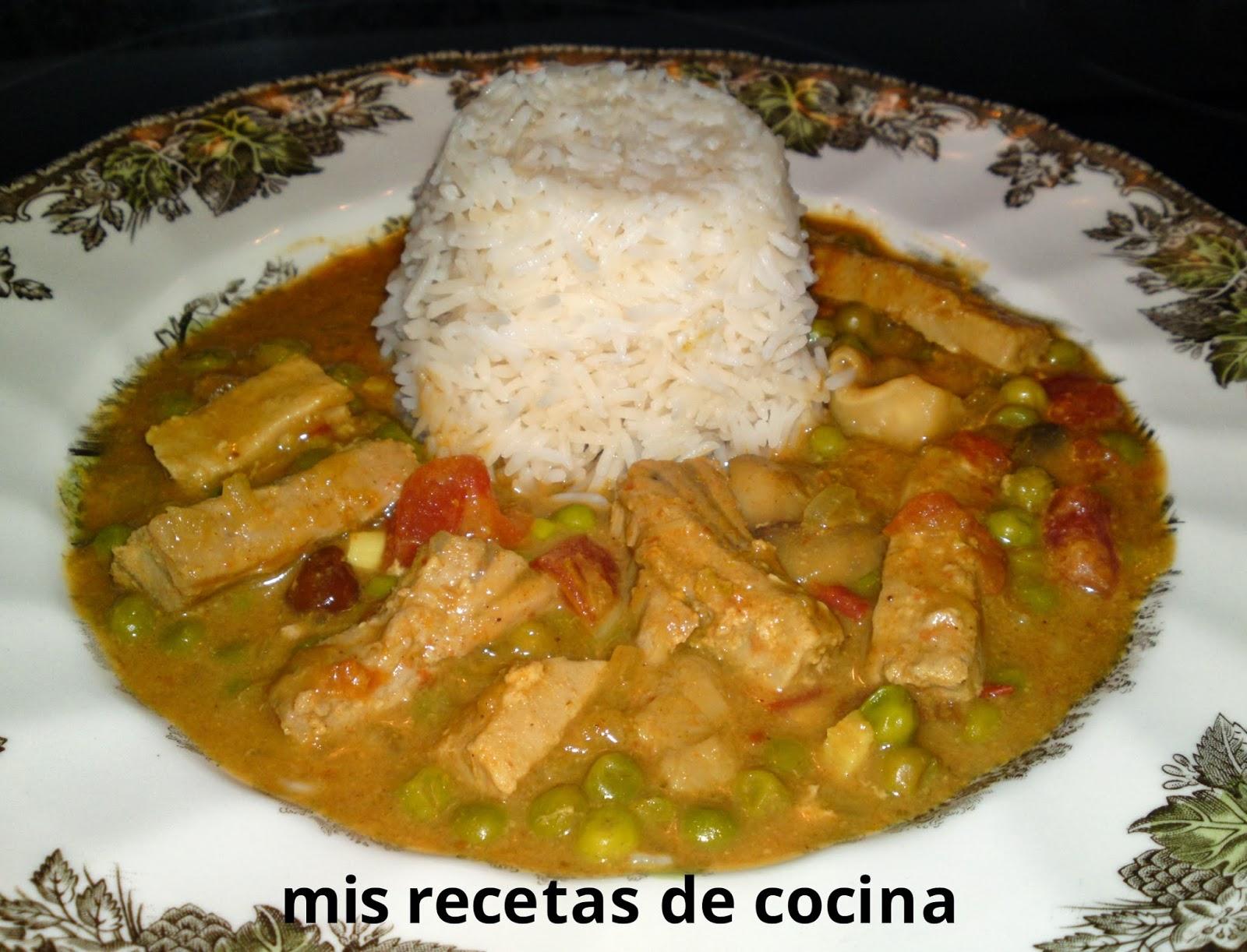Mis recetas de cocina|FSR: Atún a la tailandesa
