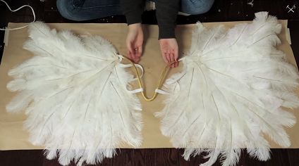 Diy victorias secret angel wings the melody show ostrich feathers for crafts solutioingenieria Gallery