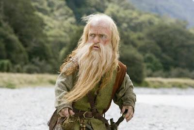 Peter Dinklage caracterizado como Trumpkin en las crónicas de Narnia - Juego de Tronos en los siete reinos