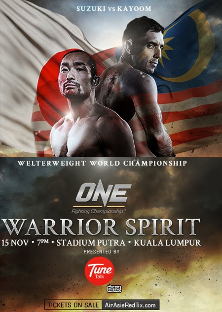 ONE FC Warrior Spirit