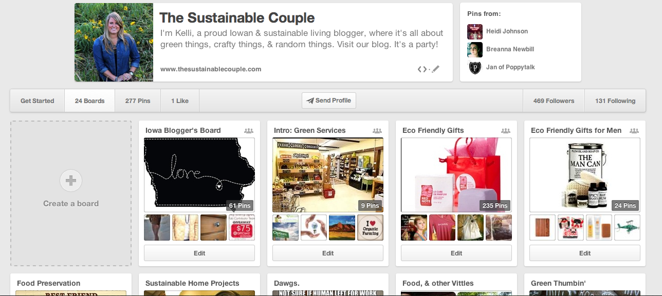 Follow us on Pinterest!