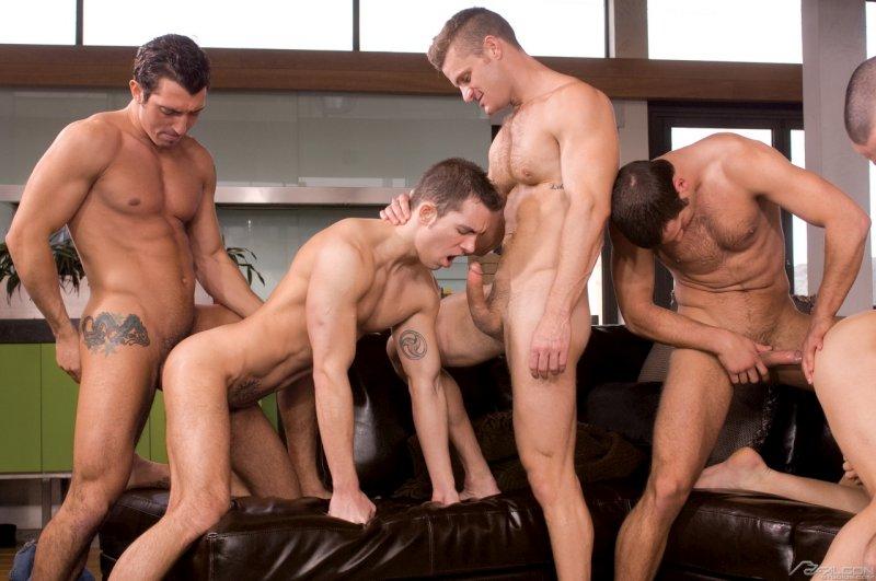 гей групповой секс фото