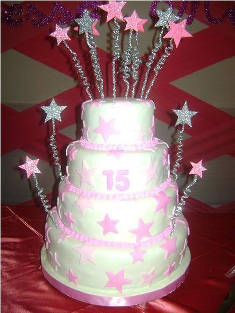 Torta de estrellas de 15 años | TORTAS Y BOCADITOS CHICLAYO
