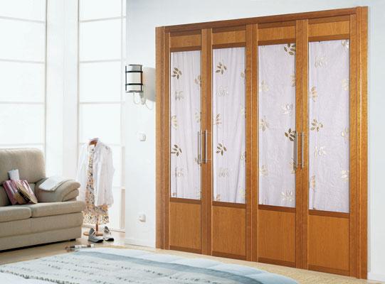 Decoracion de interiores y casa puertas plegables para tu for Puertas plegables interior