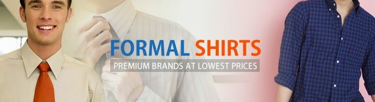 Formal Shirts - Premium brands at lowest prices