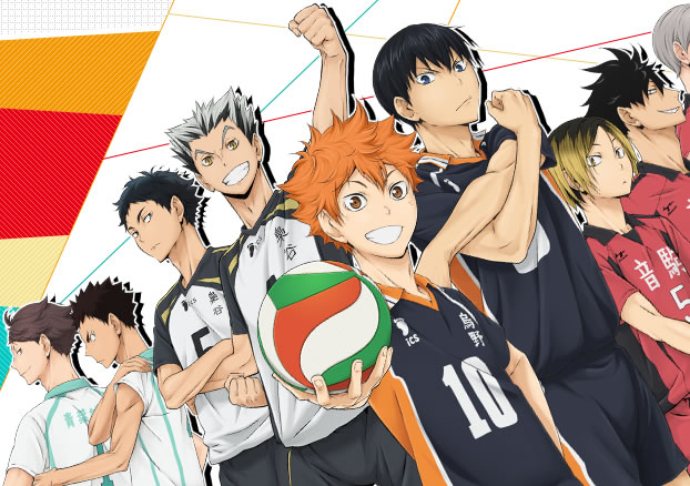 Haikyuu!! Cross team match!