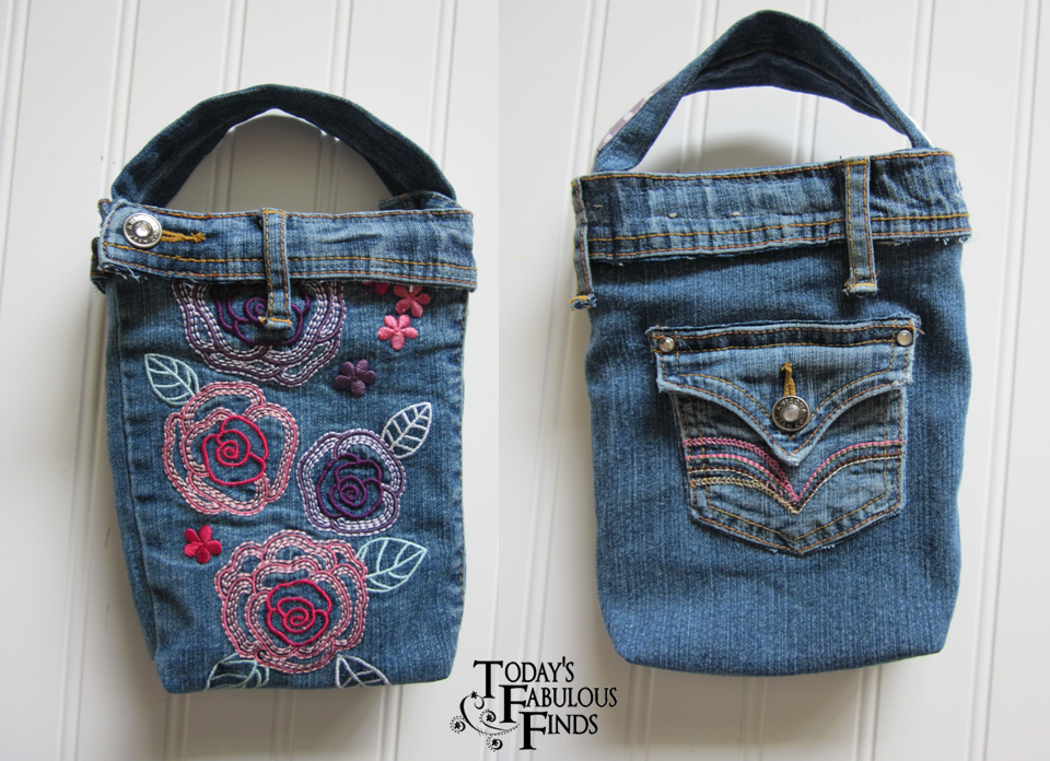 Todayu0026#39;s Fabulous Finds Denim Bag/Purse from Girls Jeans