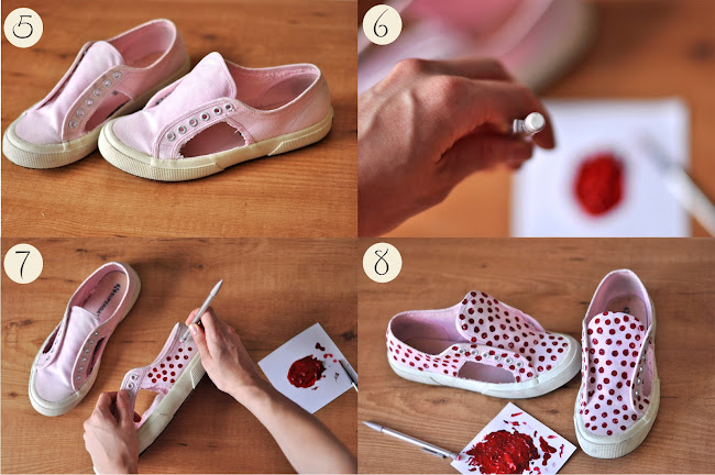 DIY sneakers superga