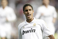 Central defender - Raphael Varane