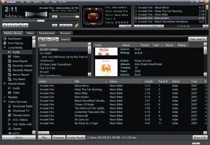 Download Winamp 5.666 Full Terbaru