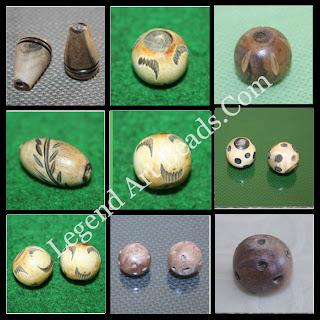 Fashion jewelry wooden designer beads