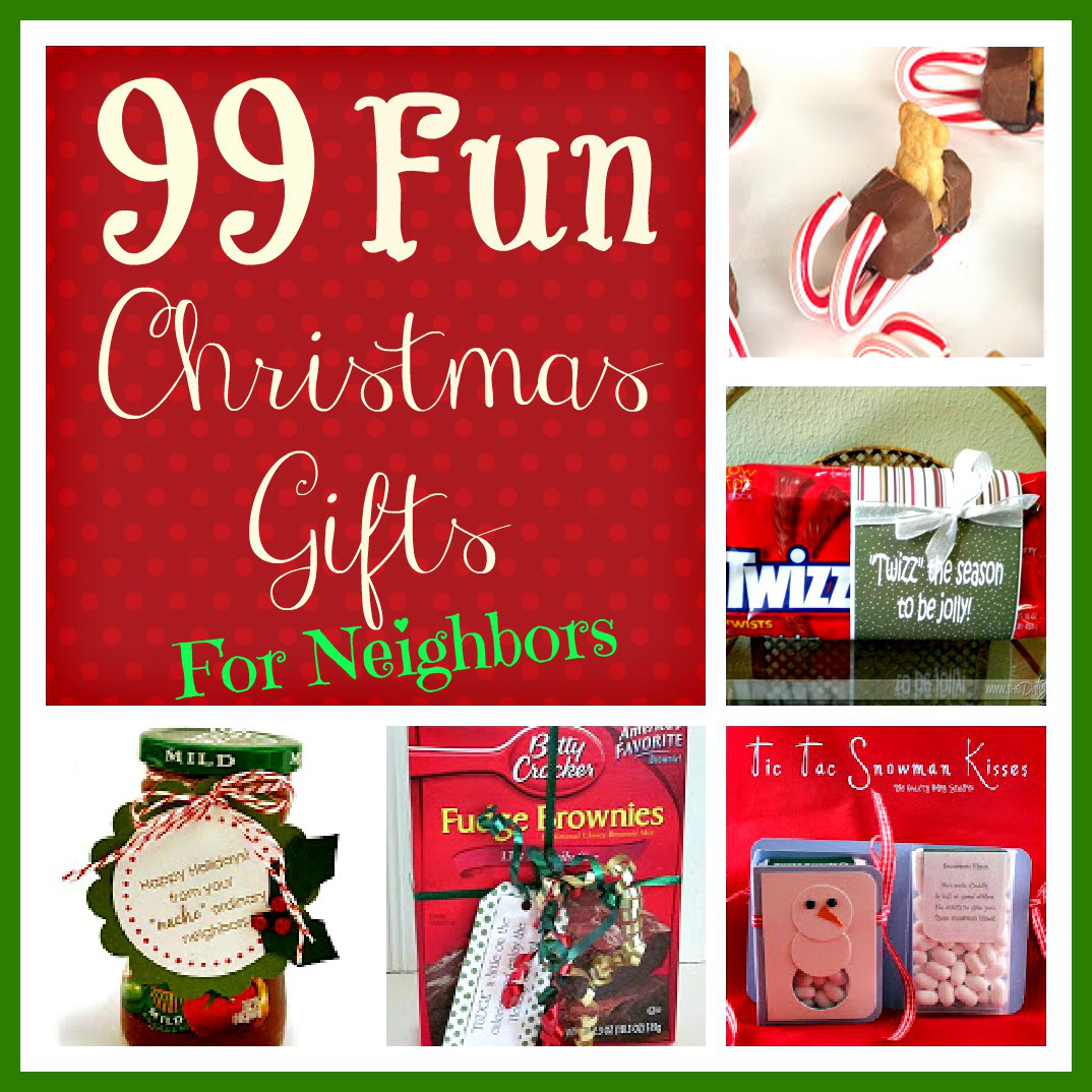 99 Fun Christmas Gifts for Neighbors | Six Sisters' Stuff