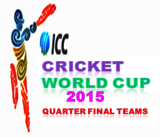 ICC Cricket World Cup 2015 Quarter final Teams