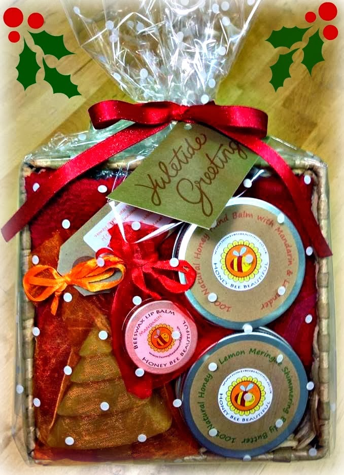 Honey Bee Beautiful Christmas Hamper