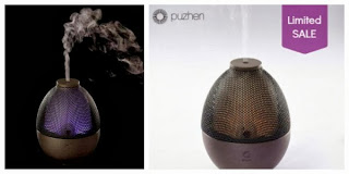 Puzhen's Sha Aroma Diffuser made of purple clay