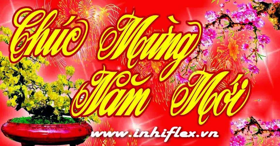 In bang ron chuc mung nam moi Tet nguyen dan 2016