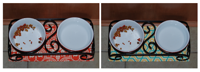 Inspiration Cafe | Free Dog Food Bowl Mat Pattern