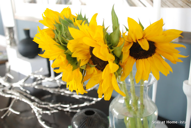 sunflowers for a fall table