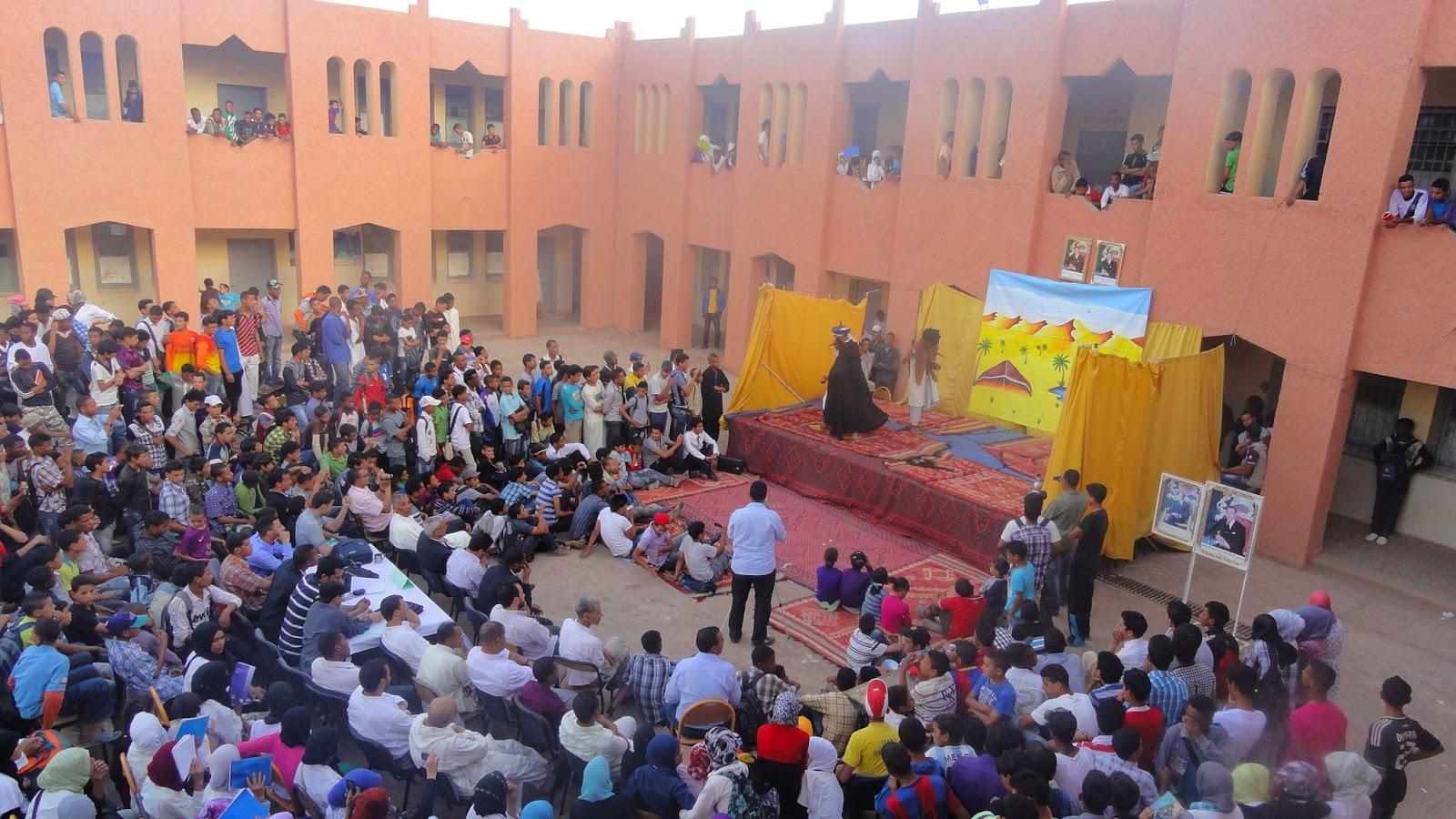 زاكورة: المهرجان الإقليمي الثاني للمسرح بتازارين
