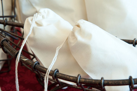 Premium Drawstring Cotton Muslin Bags from State Line Bag Company - Perfect for DIY Craft Projects