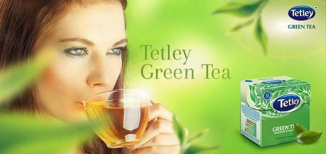 Free sample of Tetley Green Tea Pack
