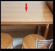 Πώς  γυαλίζουμε το τζάμι από το τραπέζι της κουζίνας ή της τραπεζαρίας;