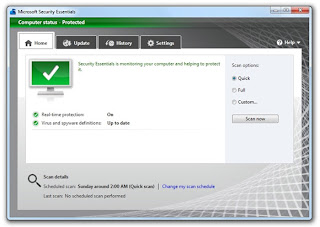Microsoft security essential 2.0.657.0