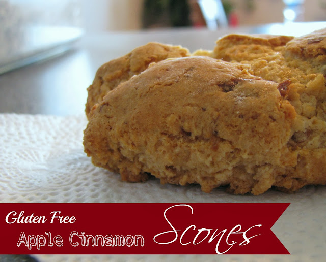 Gluten Free Apple Cinnamon Scones by Adventures of D and V