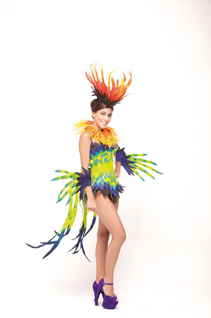 Srta. Colombia 2011-2012. Desfile en traje artesanal Santander: Andrea Liseth Tavera Sanabria