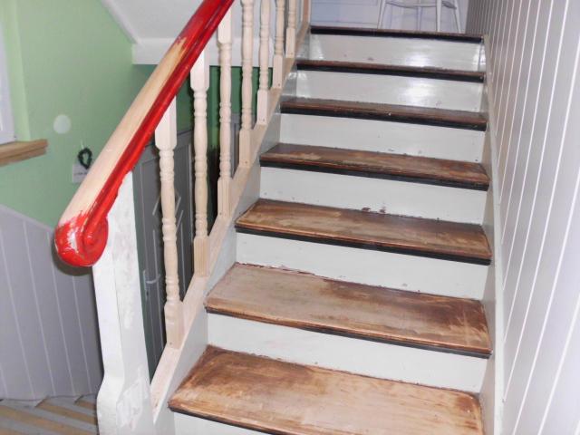 treppe streichen mbel wei streichen ohne schleifen mbel. Black Bedroom Furniture Sets. Home Design Ideas