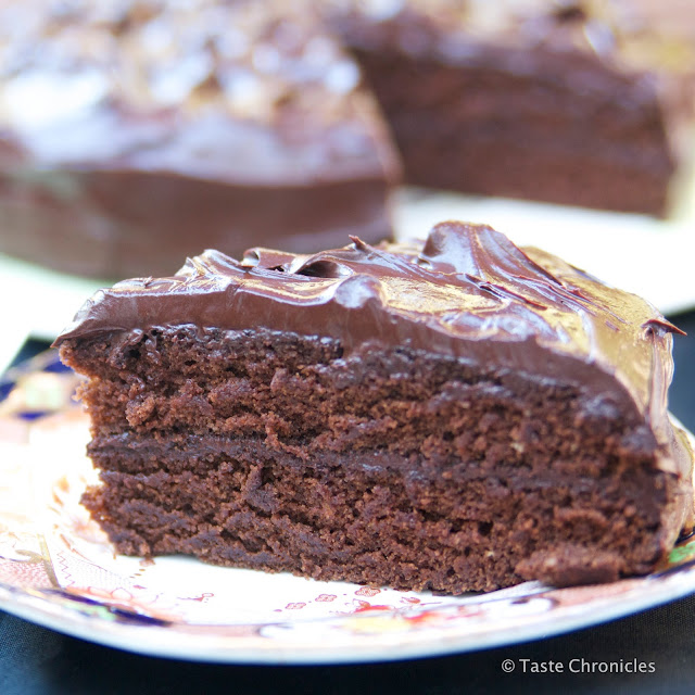 Devil's Food Cake - Nigella Lawson's Recipe