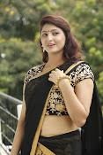 Sagarika glamorous photos in saree-thumbnail-13
