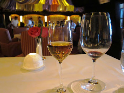 Dessert wine at Le Cirque