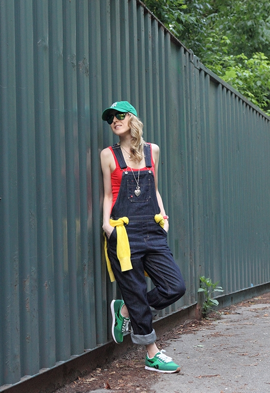 """Overall In Overalls"" Outfit Post on ""The Wind of Inspiration"" Blog #outfit #look #style #fashion #personalstyle #fashionblog #overalls #jumpers #dungarees"