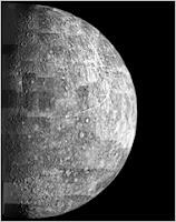 புதன் கிரகத்தில் தண்ணீர் ஐஸ் ஆக உறைந்துள்ளது: நாசா கண்டுபிடிப்பு Mercry+Planet