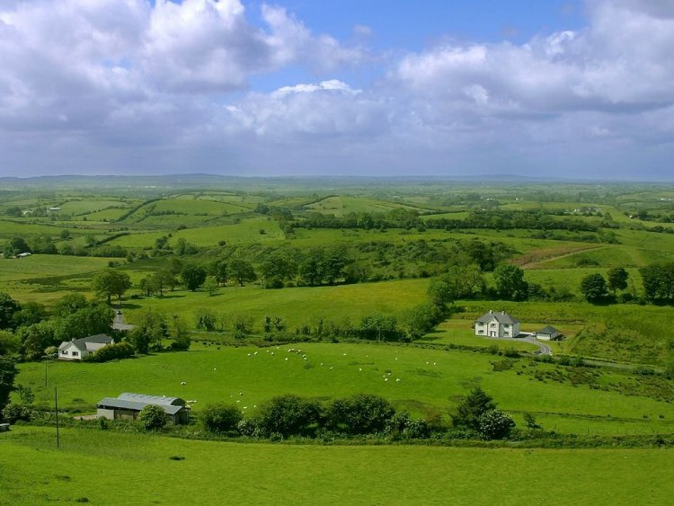 All World Visits: Ireland Countryside Ierland