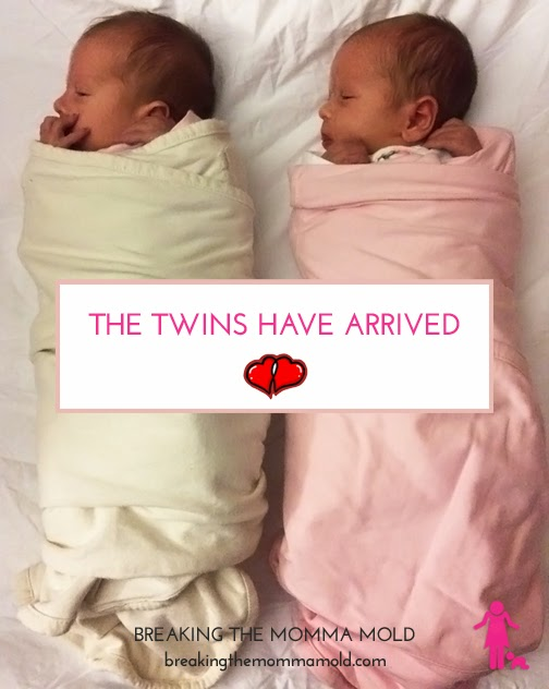 Breaking The Momma Mold: The Twins Have Arrived