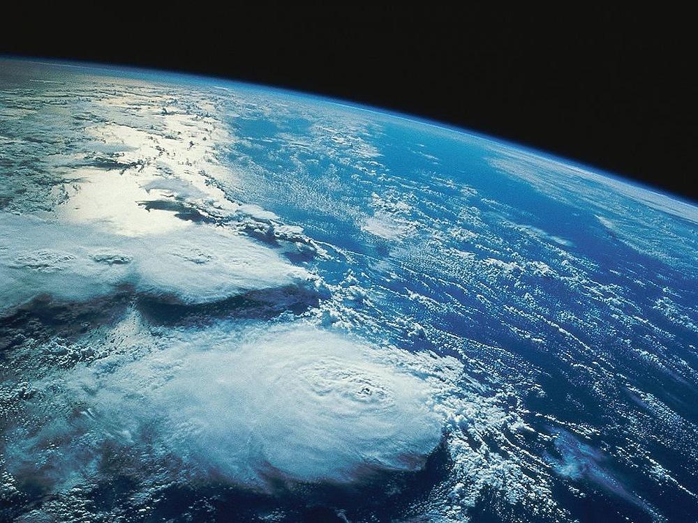 den blå planeten