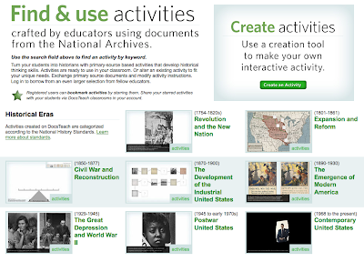 Free Technology for Teachers: Create Your Own Interactive Primary Source Document Activities