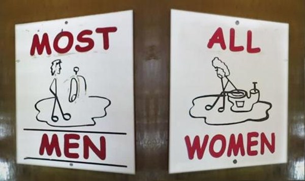 20 Creative Toilet Signs
