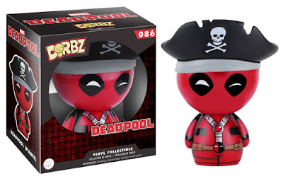 "Marvel ""Pirate"" Deadpool Dorbz Vinyl Figure by Funko"